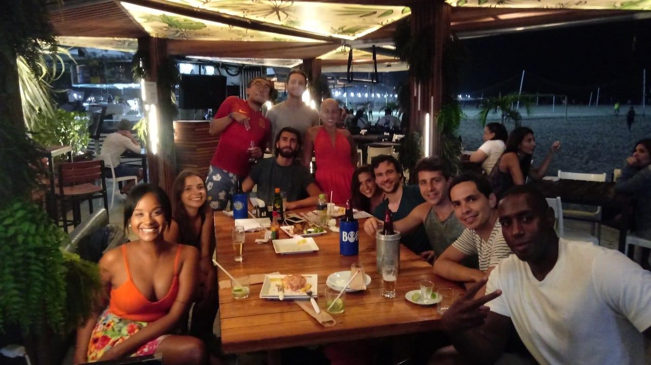 TeacherLIVE! with many caipirinhas!