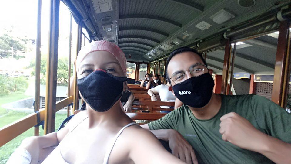 Regras do Covid no Brasil ao usar transporte público: uso de máscara obrigatório.