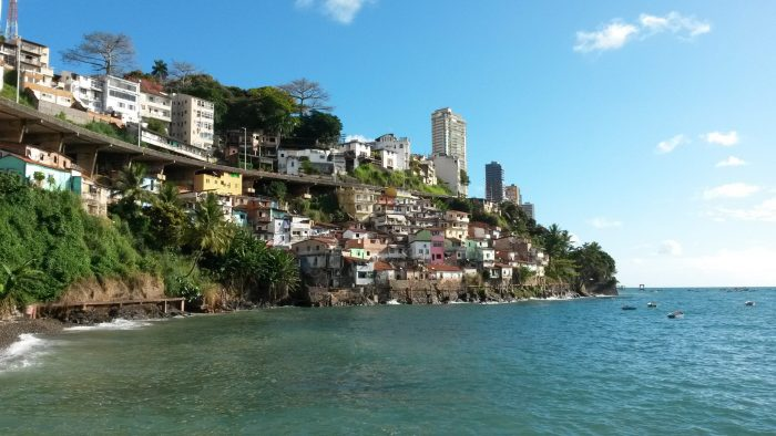 Independência da Bahia: Praia na Bahia