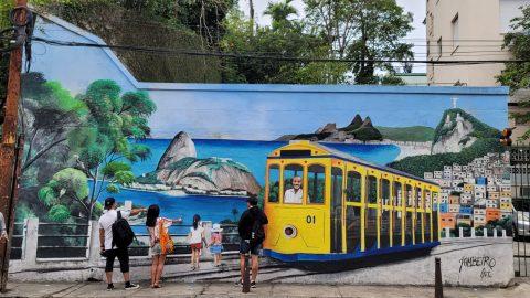 Um dia em Santa Teresa. Estudantes passaram um dia nesse lindo bairro no Rio