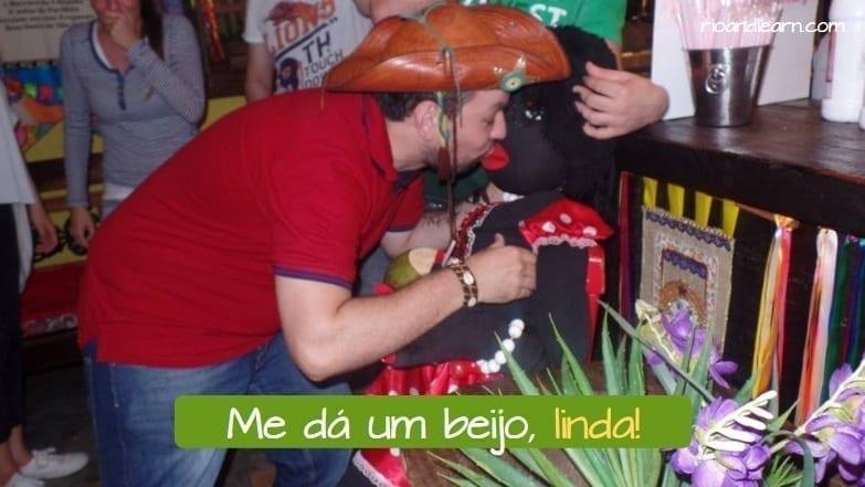 Apodos cariñosos en portugués.