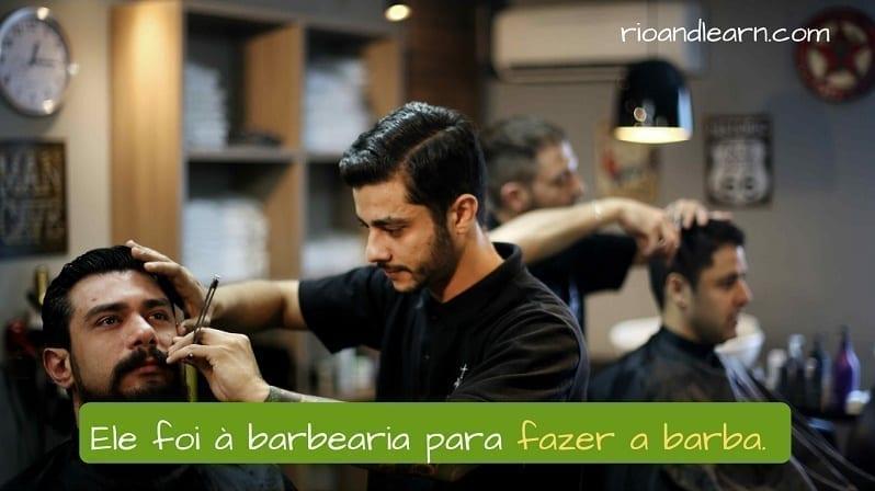 Barbería En Portugués A Dica Do Dia Portugués Gratis