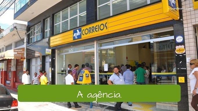 Post Office Vocabulary In Portuguese A Dica Do Dia Portuguese Classes