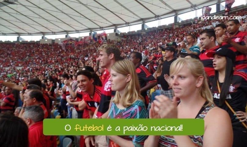 História do Futebol no Brasil. Brazilian Football History. O futebol é a paixão nacional.