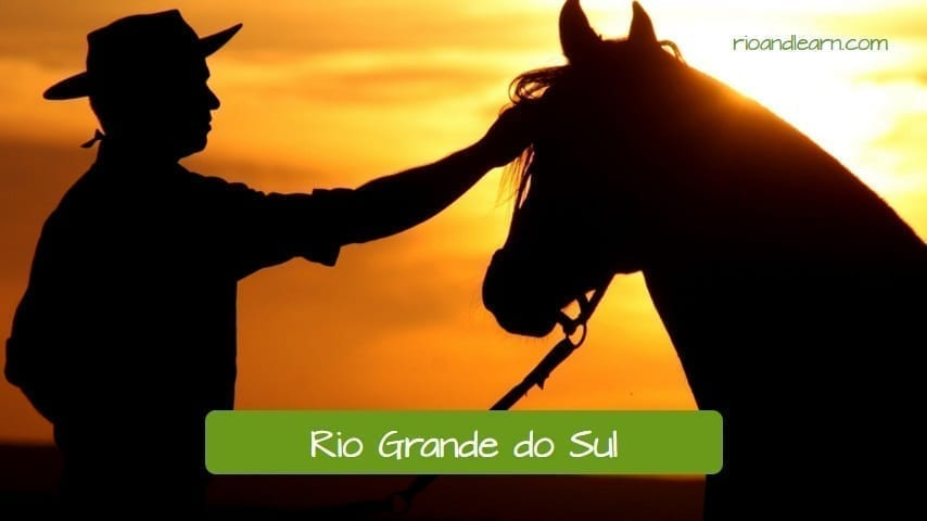 Rio Grande do Sul in Brazil. Rio Grande do Sul is a state in a Brazil