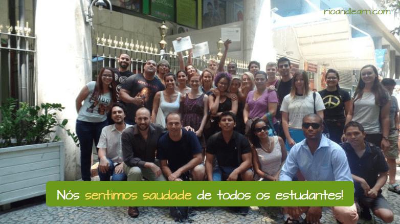 saudade Saudade em Português