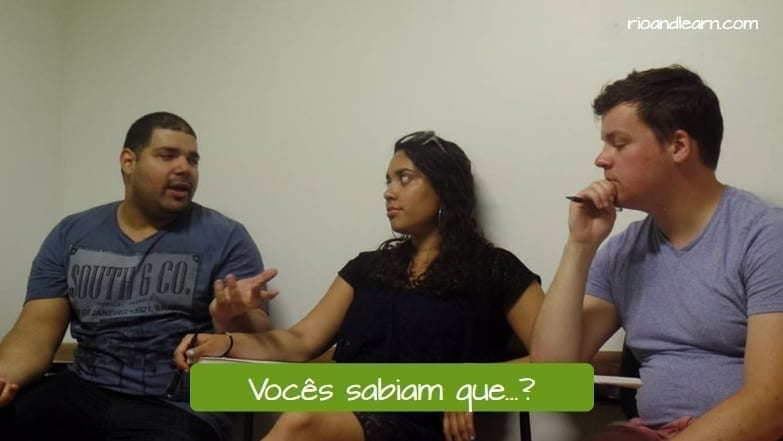What does Fofoca mean in Portuguese? Vocês sabiam que...?
