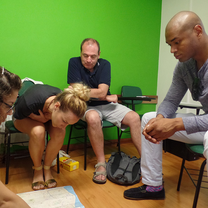 Group courses of Portuguese for Foreigners. Dynamic and interactive classes in Rio de Janeiro.