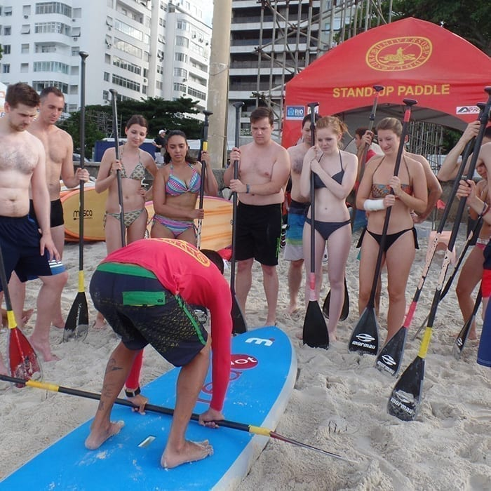 Special Courses for Groups. Surf Classes in Rio de Janeiro with Rio & Learn Portuguese School.