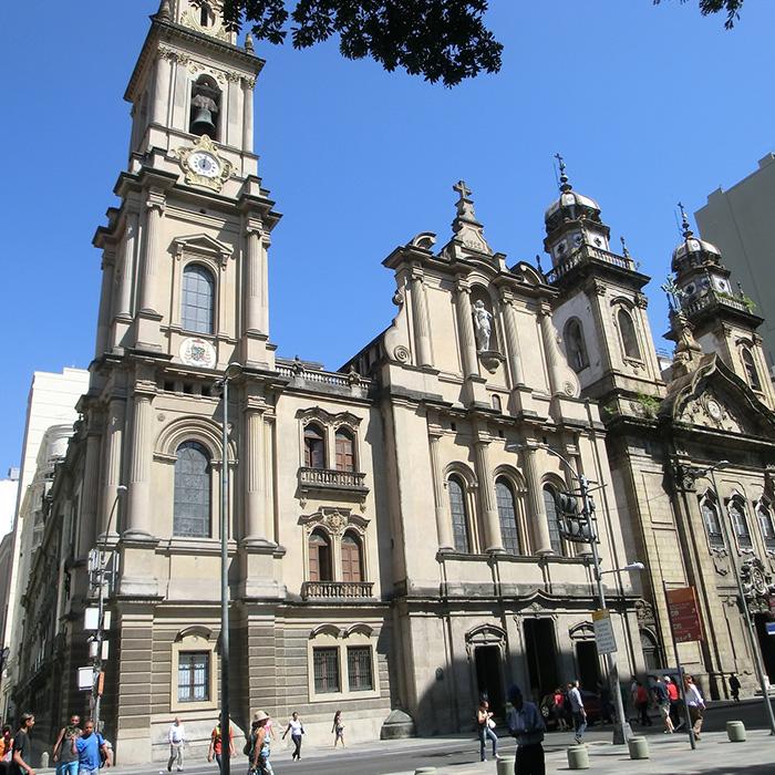 Candelária Church in Rio de Janeiro.