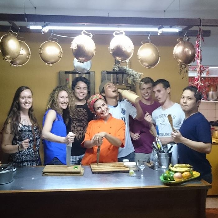 Cooking Class in Rio de Janeiro. Practice Portuguese and explore Rio de Janeiro.