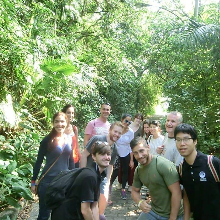 Students of Portuguese exploring Rio de Janeiro and Learn Portuguese.