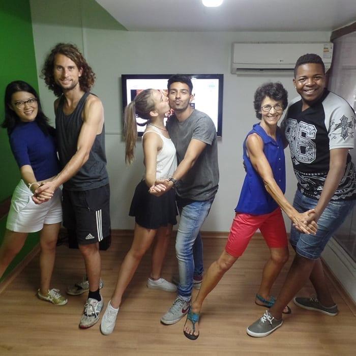 Portuguese Samba Class in Rio de Janeiro. Enjoy different activities in Rio de Janeiro.