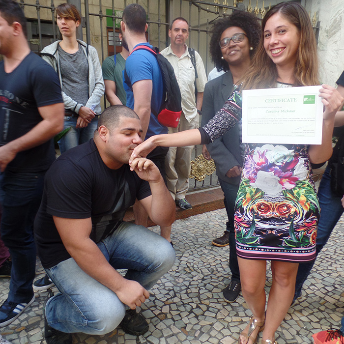Native Brazilian teacher portuguese course in brazil
