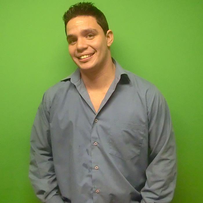 One of our Portuguese teachers in Rio de Janeiro.