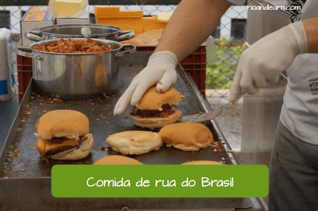 Comida de rua do Brasil