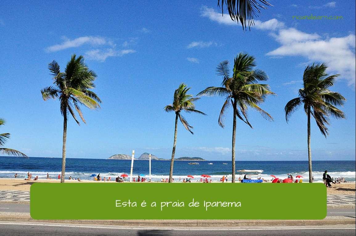 Preposição De em Português