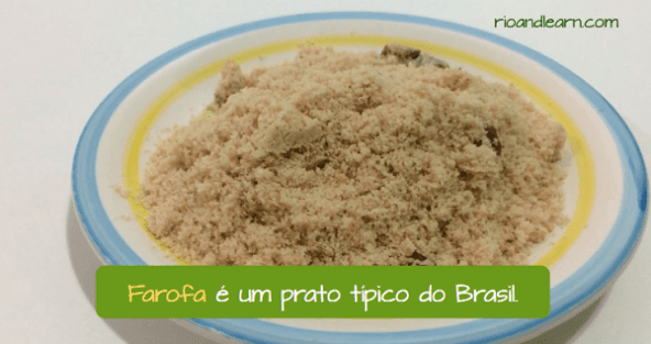 Farofa from Brazil is a tradicional Brazilian dish.