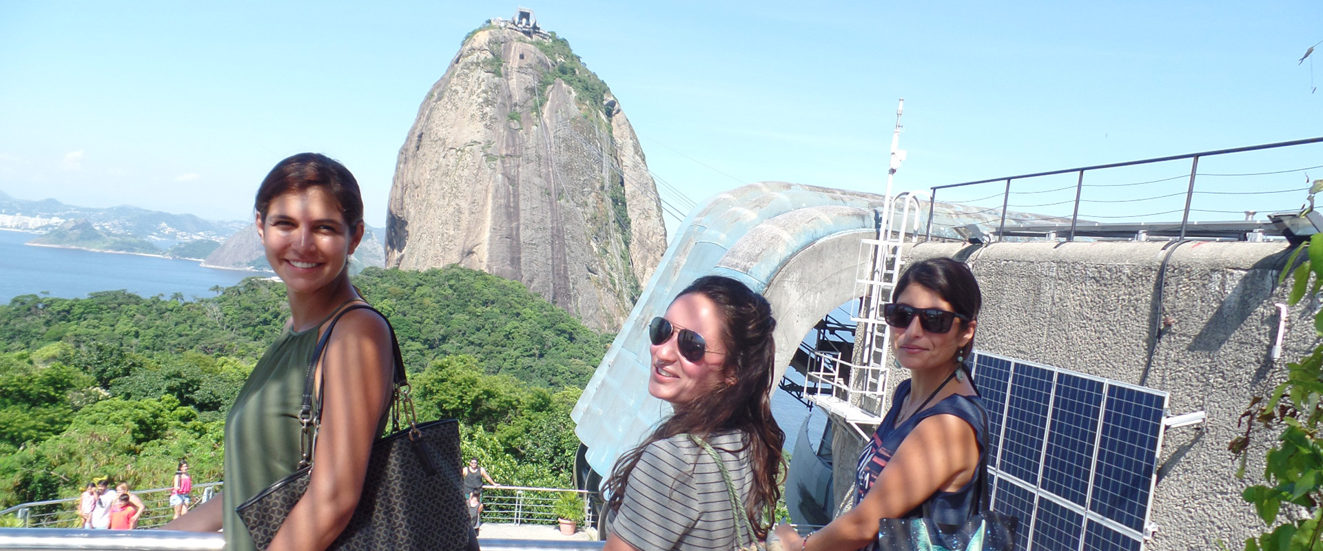 Live learning: Portuguese immersion in Brazil. Students learning Portuguese at Pão de Açúcar.