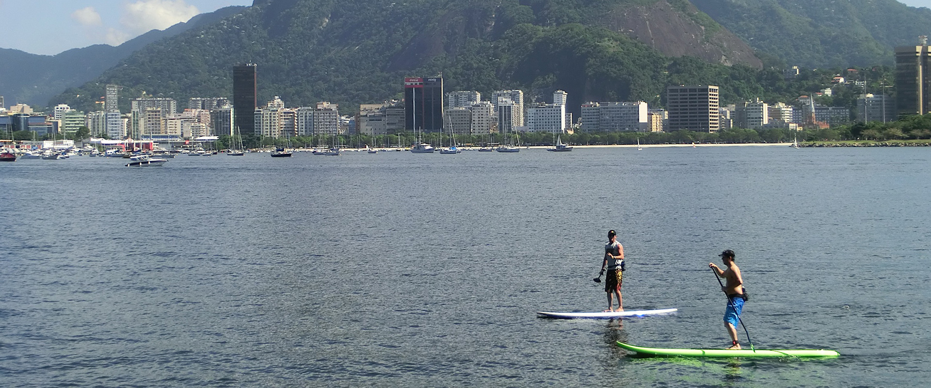 Stand up Paddle Surf in Rio de Janeiro.