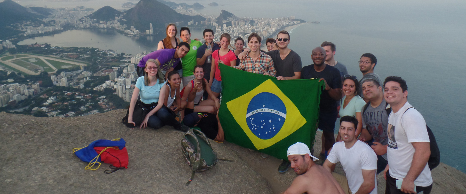 Explore Rio de Janeiro and Visit Morro Dois Irmãos with Rio & Learn Portuguese School.