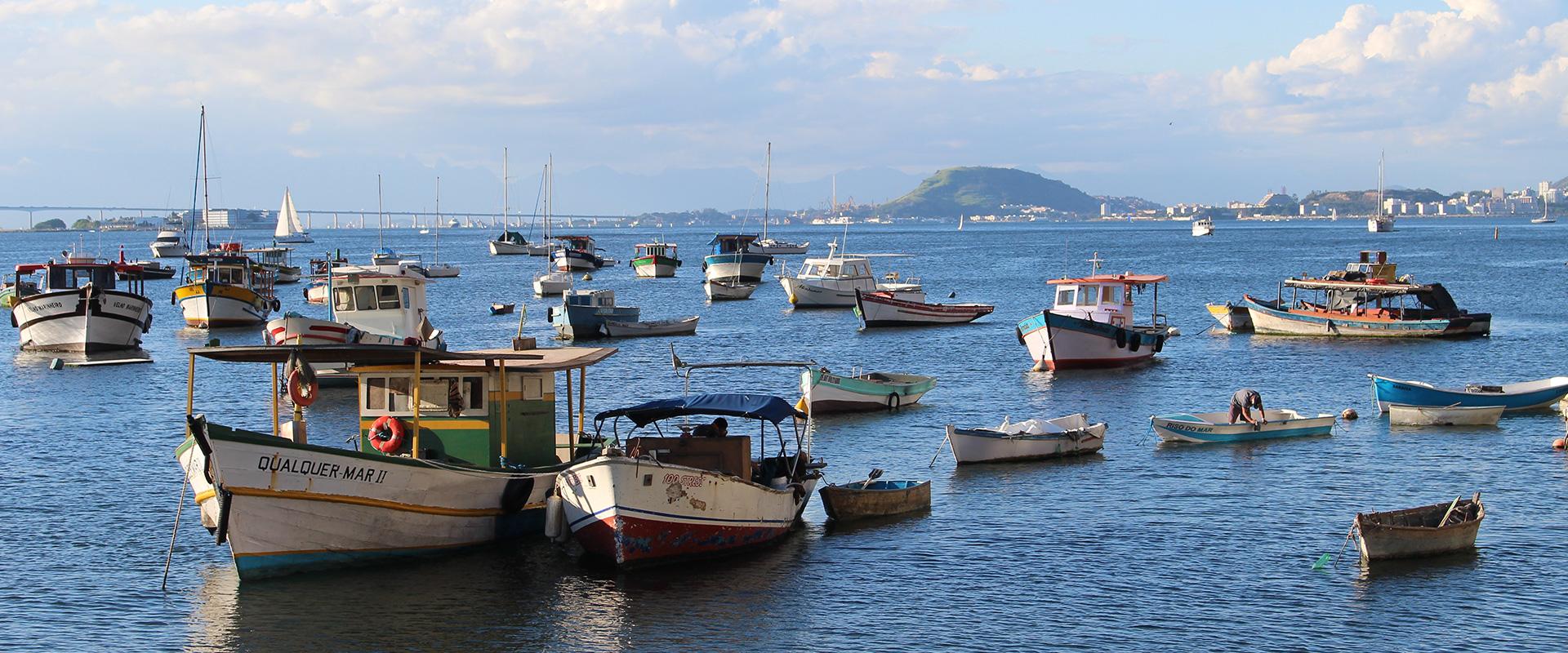 Marina da Gloria view in Rio de Janeiro. Explore Rio de Janeiro,.